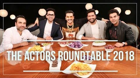 The Actors Roundtable 2018 With Rajeev Masand