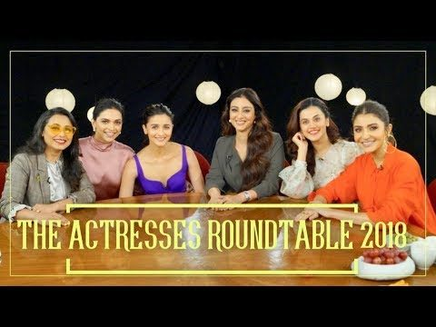 The Actresses Roundtable 2018 with Rajeev Masand
